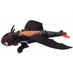 Мягкая игрушка  Беззубик плюшевый запускается и летит Dragons