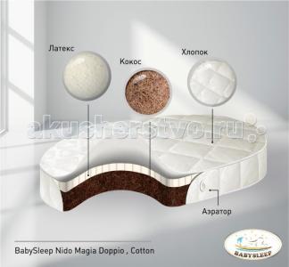 Матрас  Doppio Cotton 125x75 см Babysleep
