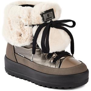 Ботинки  Supergrip Jog Dog. Цвет: бежевый/коричневый