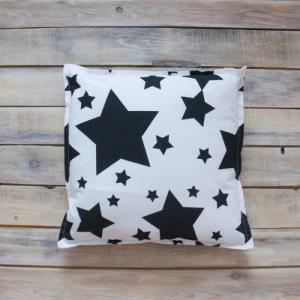 Подушка Black Stars 40х40 VamVigvam