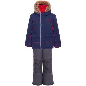 Комплект : куртка и полукомбинезон Gusti. Цвет: темно-синий