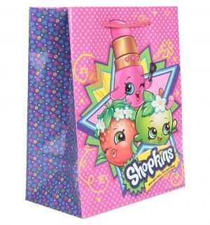 Подарочный пакет  23 х 18 см Shopkins