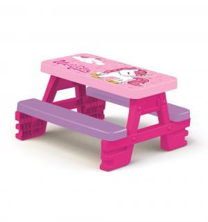 Стол  Пикник, цвет:розовый Dolu