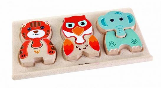 Деревянная игрушка  Пазл Животные Plan Toys