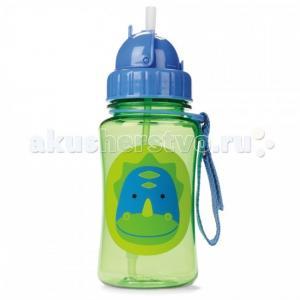 Поильник  Zoo Straw Bottle 350 мл Skip-Hop