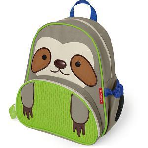 Рюкзак детский  Zoo Pack Ленивец Skip Hop. Цвет: grau/grün