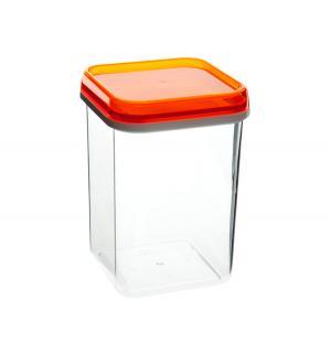 Банка квадрат для сыпучих продуктов , 1.2 л Полимербыт