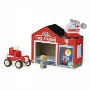 Деревянная игрушка  Игровой набор Чудо - Пожарные Wonderworld
