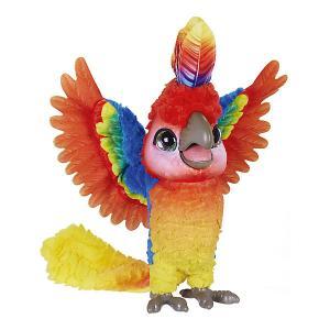 Интерактивная игрушка FurReal Friends Rock a to the show bird Попугай поющий Кеша Hasbro. Цвет: разноцветный