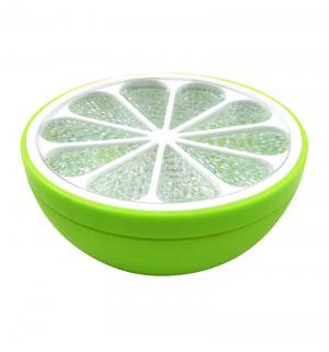 Ночник  3LED Цитрус зеленый на батарейках Старт
