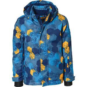 Утеплённая куртка Color Kids Dartwin. Цвет: сине-жёлтый