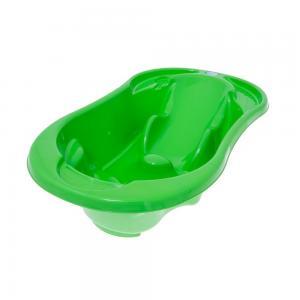 Ванна  Comfort с отливом и термометром, цвет: зеленый Tega