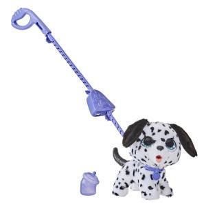 Мягкая игрушка  Озорной питомец (большой) Dog цвет: белый/черный FurReal Friends