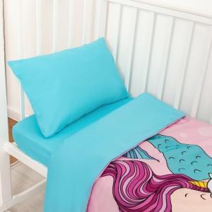 Постельное белье  Really mermaid (3 предмета) Крошка Я