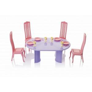 Набор мебели  Маленькая принцесса Розовые стулья Огонек