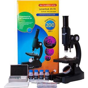 Микроскоп  3S NG, монокулярный Levenhuk. Цвет: черный