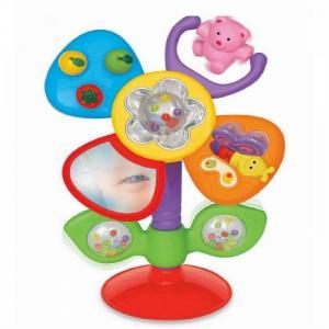 Развивающая игрушка  на присоске Цветок русском языке Kiddieland