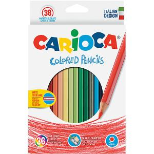 Набор цветных карандашей , 36 цветов Carioca. Цвет: белый