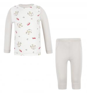 Комплект кофта/брюки , цвет: серый Tiger baby & kids