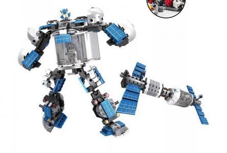 2 в 1 робот-спутник Супергерой (242 детали) Play Smart