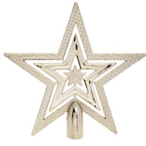 Верхушка для ели Fenix-present Золото, резная Феникс-Презент