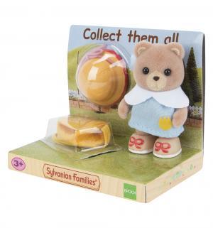 Игровой набор  Малыши в сундучках Медвежонок с рюкзаком и шляпой Sylvanian Families