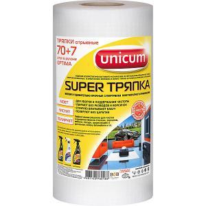 Тряпка  Super, 70+7 листов в рулоне Unicum