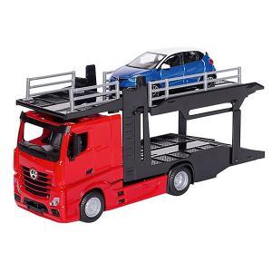 Игровой набор  Street fire Mercedes-benz actros, 1:43 Bburago. Цвет: красный