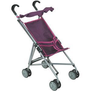Коляска-трость для кукол Buggy Boom, фиолетовая Melobo. Цвет: фиолетовый