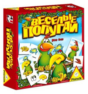Настольная игра  Веселые попугаи Piatnik