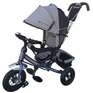 Трехколесный велосипед  10/8 Lexus Trike. Цвет: серый