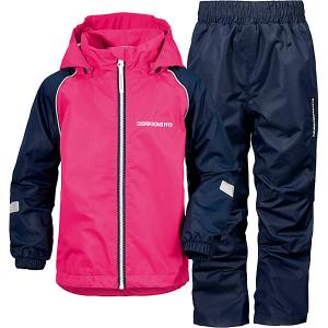 Комплект DIDRIKSONS Trysil: ветровка и спортивные брюки DIDRIKSONS1913. Цвет: фуксия
