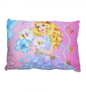 Подушка Сказочные герои 50 х 70 см, цвет: розовый Cleo