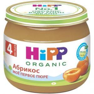 Пюре  абрикос с 4 месяцев, 80 г Hipp