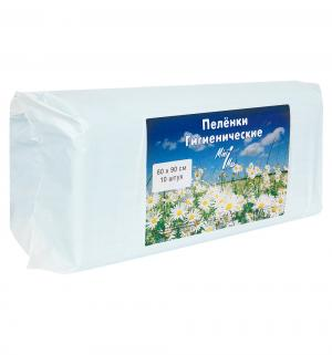 Пеленки  впитывающие 60х90 см, 10 шт Minimax