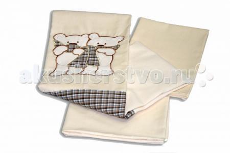 Постельное белье  Шотландцы (3 предмета) Labeille