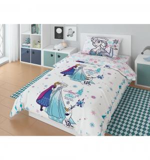 Комплект постельного белья  Frozen Sisters, цвет: белый Нордтекс