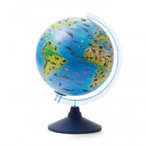 Глобус Зоогеографический Классик Евро 250 мм Globen