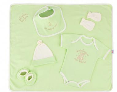 Трикотажный набор с вышивкой (6 предметов) 31094 Little People