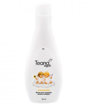 Детское масло с экстрактами ромашки и календулы Солнечный ангел, 250 мл Teana