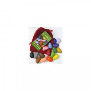 Мелки-камушки восковые, 16 шт, Crayon Rocks