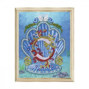 Мозаика на холсте Рыбы Волшебная мастерская