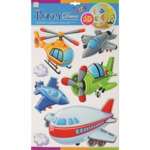 Наклейка Воздушный транспорт POA1025, Room Decor