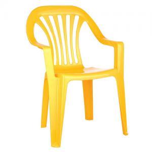 Детский стул , цвет:желтый Бытпласт