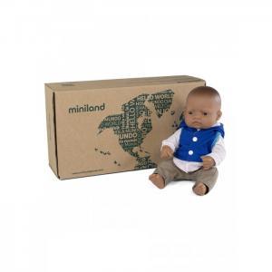 Кукла Мальчик Латиноамериканец с комплектом одежды 32 см Miniland