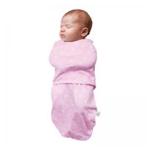 Пеленка для сна ClevaMama с 0 до 3 мес цвет розовый