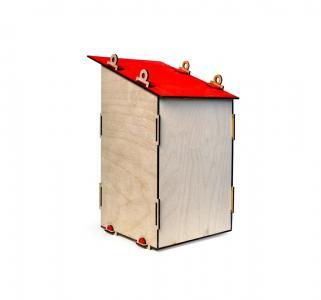 Сборная деревянная модель  Скворечник Lemmo
