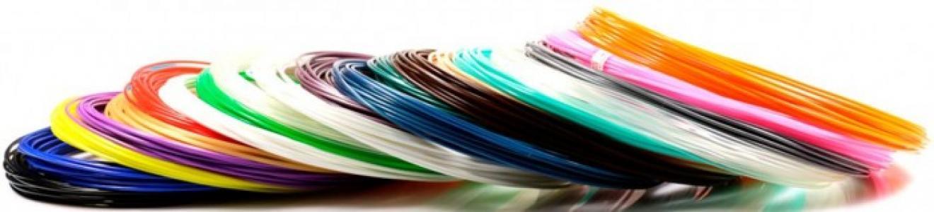 Комплект пластика PLA для 3Д ручек (20 цветов) Unid