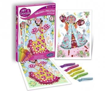 Набор для детского творчества с блестками Танцовщицы SentoSpherE