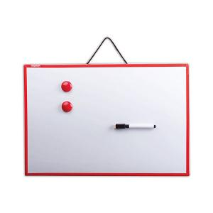 Магнитно-маркерная доска , 30х45 см Пифагор. Цвет: белый